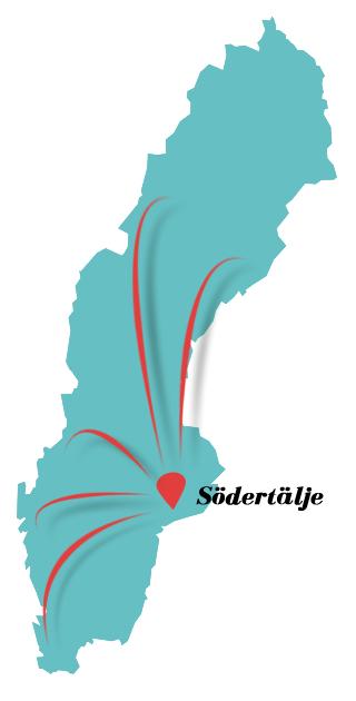 Molto Sverige Karta