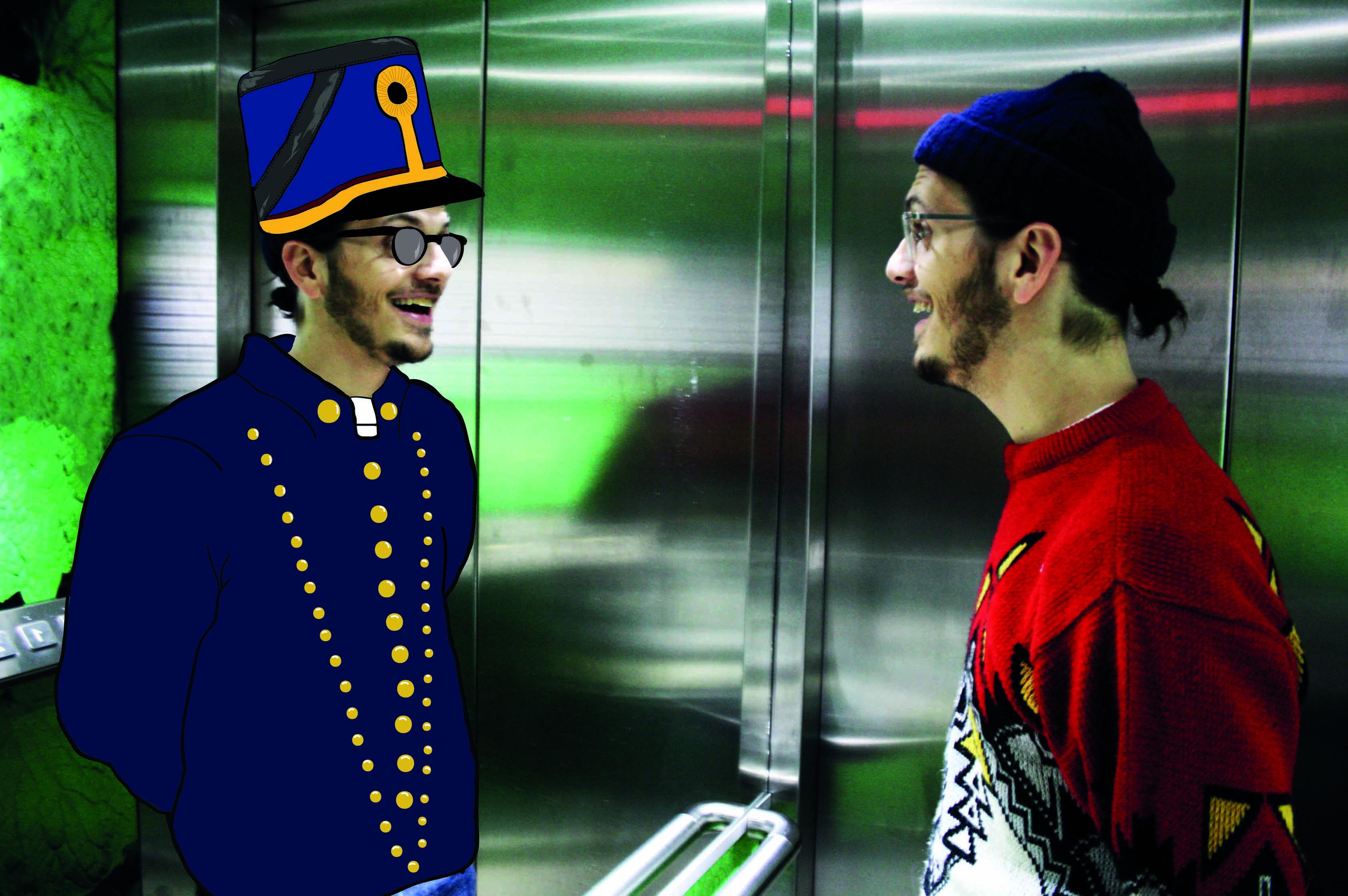 Salem Al-Fakir möter sitt alterego, Damien Adore.